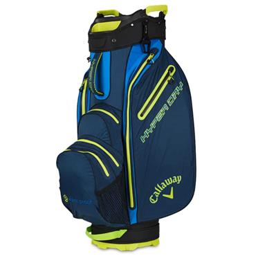 Callaway Hyper Dry 19 Cart Bag Navy - Royal -Yellow