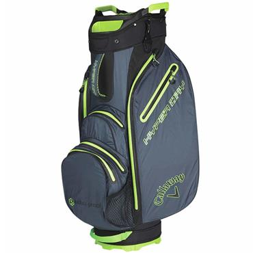 Callaway Hyper Dry 19 Cart Bag Titanium - Black - Green