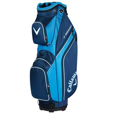Callaway X Series 19 Cart Bag Navy - Royal - White