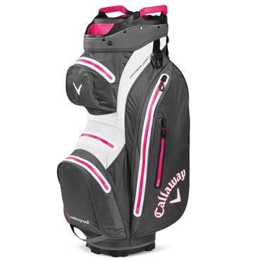 Callaway Hyper Dry 15 Cart Bag  Charcoal Pink