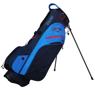 Callaway Fusion Zero 19 Stand Bag  Navy Red White