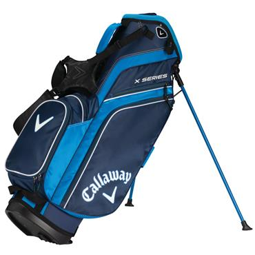 Callaway X Series 19 Stand Bag  Navy/Royal/White