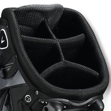 Callaway X Series 19 Stand Bag  Black/Titanium/White