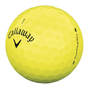 Callaway Supersoft 2019 Golf Balls Dozen Yellow