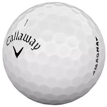 Callaway Supersoft Magna Golf Balls Dozen White