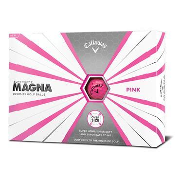 Callaway Supersoft Magna Golf Balls Dozen Pink