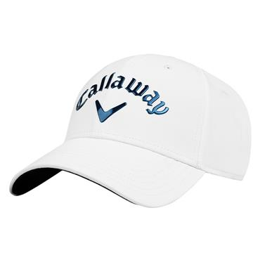 Callaway Gents Liquid Metal Adj Cap  White/Royal