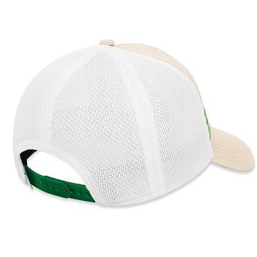 Callaway Gents Stripe Mesh Cap  Khaki/White