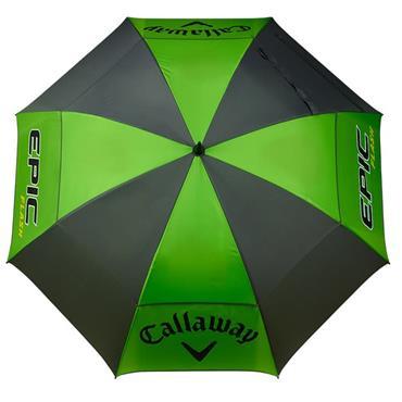 """Callaway Epic Flash DC 68"""" Umbrella Green - Charcoal"""