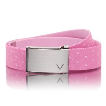 Callaway Ladies Chev Reversible Belt  Pink 655