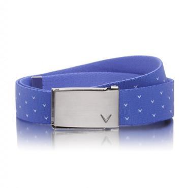 Callaway Ladies Chev Reversible Belt  Blue 423