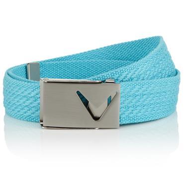 Callaway Ladies Cut To Fit Webbed Belt  Blue Radiance 447