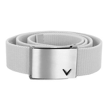 Callaway V Logo Belt  White 114