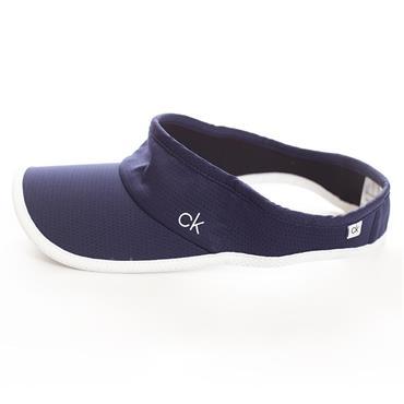 Calvin Klein Golf Ladies Olivine Visor ONESIZE Navy - White