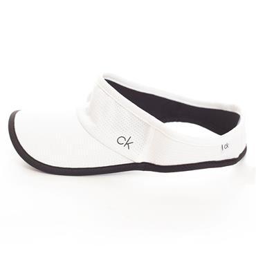 Calvin Klein Golf Ladies Olivine Visor ONESIZE White - Black