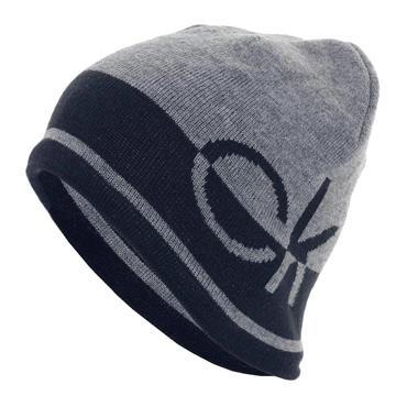 Calvin Klein Golf Gents Windward Reversible Beanie  Grey/Navy