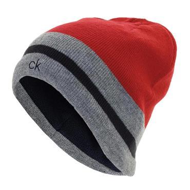 Calvin Klein Golf Gents Helm Reversible Beanie Navy/Red