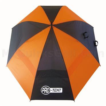 Golfers Club Collection Pro-Tekt Dual Canopy Umbrella Black - Orange