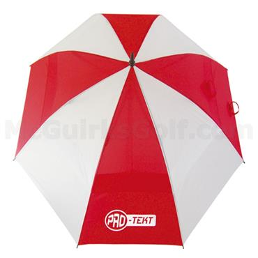 Pro-Tekt Dual Canopy Umbrella  White/Red