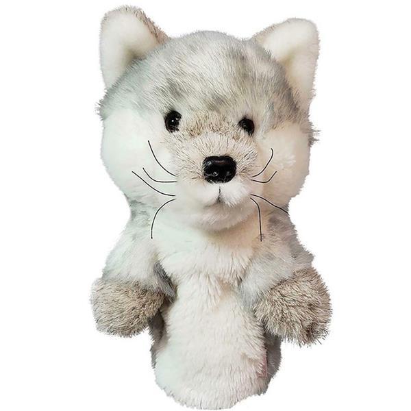 Silver Fox Stuffed Animal, Daphne S Animal Headcover Silver Fox Golf Store
