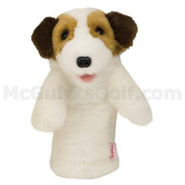 Daphne's Animal Headcovers  Jack Russell