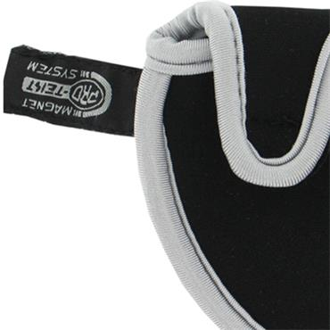 Pro-Tekt Neoprene 2 Ball Putter Cover  Black-Grey
