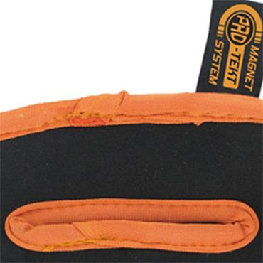 Pro-Tekt Neoprene Mallet Putter Cover  Black Orange