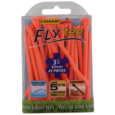 "Champ Fly Tee 3 1/4"" Tees 25-Pack  Orange"