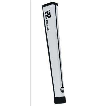 P2 GRIPS Classic Regular Putter Grip  White/Black
