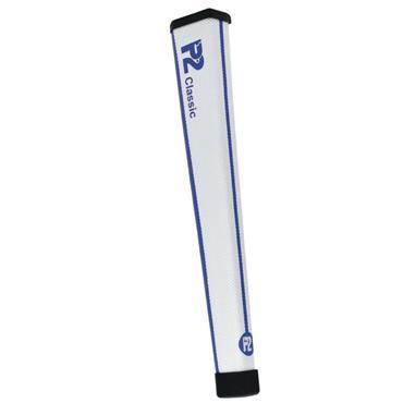 P2 GRIPS Classic Regular Putter Grip  White/Blue