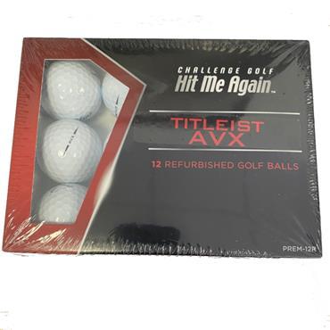 Lake Balls Titleist AVX Refurbished Balls Dozen White