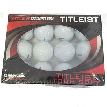 Lake Balls Titleist Tour Soft Lake Balls Dozen White