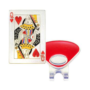 Navika Magnetic Hat Clip and Marker  Queen of Hearts