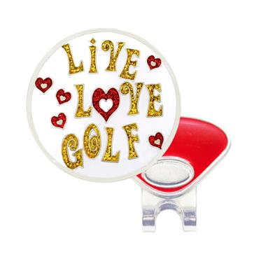 Navika Magnetic Hat Clip and Marker  Live Love Golf