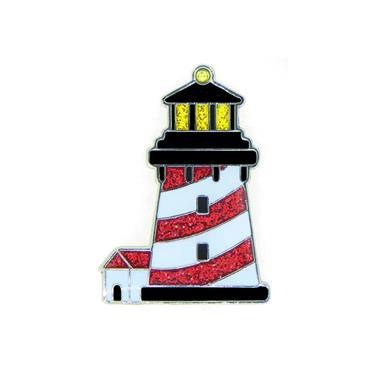 Navika Magnetic Hat Clip & Swarkovski Marker  Lighthouse