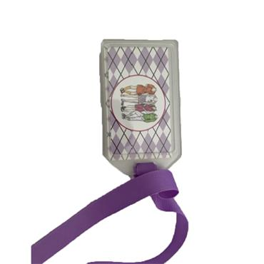 Golfers Club Collection Luggage Tags  4 Golfers