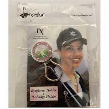 Navika Magnetic Eye Glass Holder & Ball Marker  Golfer