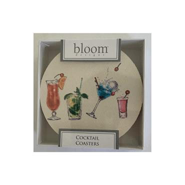 Golfers Club Collection Themed Coasters  Cocktail