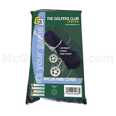 Golfers Club Collection Rain Cape Nylon Black