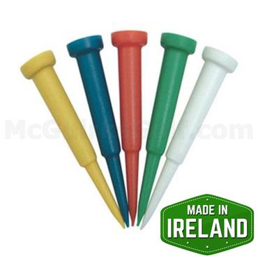 Golfers Club Collection Cone Plastic Tees 16-Pack 2.75 Inch Mult