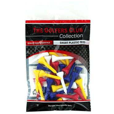 Golfers Club Collection TEPSMP Short Plastic Tees 40-Pack . ONE