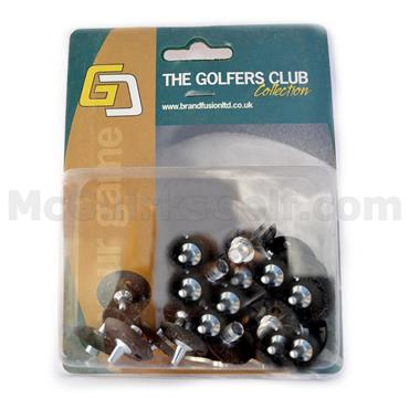 Golfers Club Collection Metal Fast Twist/Q-Lock Spikes ST14P