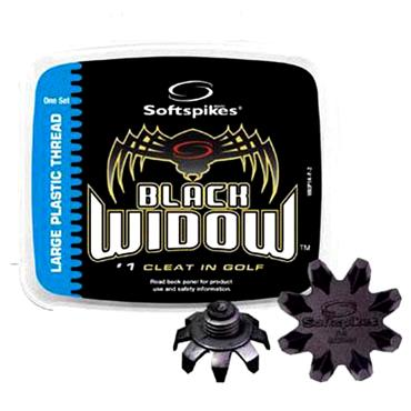 Softspikes Black Widow Cleats Plastic Thread IS