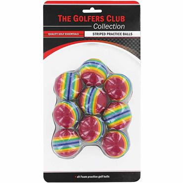 Golfers Club Collection Sponge Balls 9-Pack