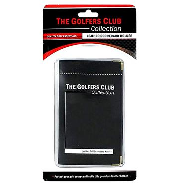 Golfers Club Collection Leather Card Holder CH05M . ONE