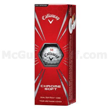 Callaway Call Chrome Soft 48-144 dz logo ball