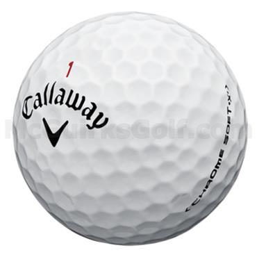 Callaway Call Chrome Soft X 12-47 dz logo ball