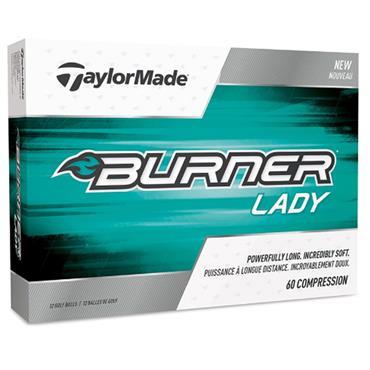 TaylorMade Tay Burner Lady 48-144 dz logo balls