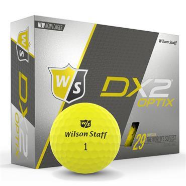 Wilson DX2 Optix YELLOW 12-47 dz logo ball
