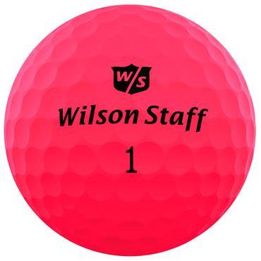 Wilson DX2 Optix PINK 12-47 dz logo ball